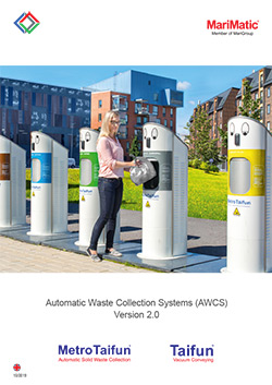 MetroTaifun Automatic Waste Collection brochure