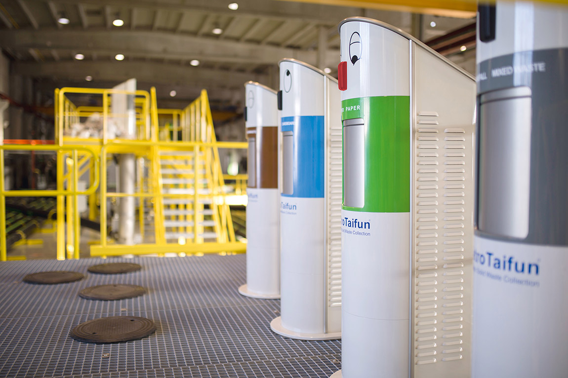 MariMatic awcs quality waste bins